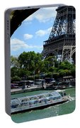 Paris Eiffel Boat Portable Battery Charger