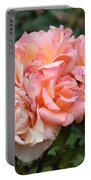 Paris Garden Roses Portable Battery Charger