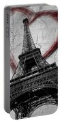 Paris In Love Portable Battery Charger