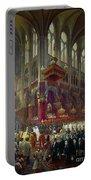 Paris: Notre Dame, 1841 Portable Battery Charger