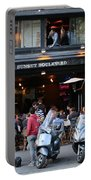 Paris Street Life 4 Portable Battery Charger