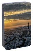 Paris Sunset Portable Battery Charger