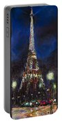 Paris Tour Eiffel Portable Battery Charger