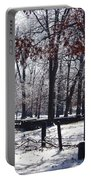 Park In The Snow Portable Battery Charger