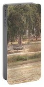 Park Near The Source Of The Yarkon River Portable Battery Charger