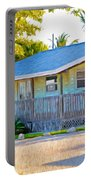 Parmer's Resort Cottage In Keys Sunset Glow Portable Battery Charger