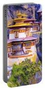 Paro Taktsang Monastery Bhutan Portable Battery Charger
