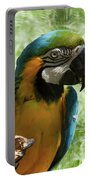 Parrot Eating Nut Portable Battery Charger