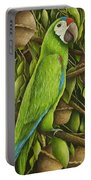 Parrot In Brazil Nut Tree Portable Battery Charger