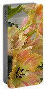 Parrot Tulips And Desert Succulents Portable Battery Charger