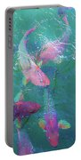 Parrotfish Of The Keys Portable Battery Charger