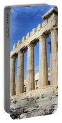 Parthenon On Acropolis In Athens Greece Portable Battery Charger