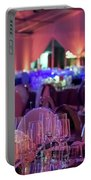 Party Setting With Colorful Bokeh Background Portable Battery Charger