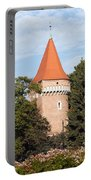 Pasamonikow Tower And Planty Park In Krakow Portable Battery Charger