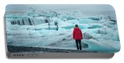 Passing Icebergs  Portable Battery Charger