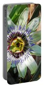 Passion Flower Close-up Portable Battery Charger