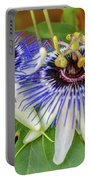 Passion Flower Power Portable Battery Charger
