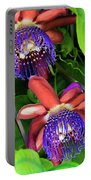 Passion Flower Ver. 12 Portable Battery Charger