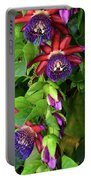 Passion Flower Ver. 16 Portable Battery Charger