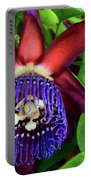 Passion Flower Ver. 17 Portable Battery Charger