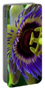 Passion-fruit Flower Portable Battery Charger