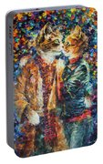 Passion Of The Cats  Portable Battery Charger