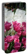Passionate Tulips Portable Battery Charger