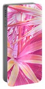 Pastel Dream In Pink Portable Battery Charger