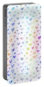 Pastel Hearts Portable Battery Charger