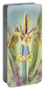 Pastel Iris Portable Battery Charger