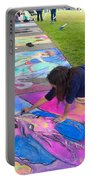Pastel Mural Portable Battery Charger