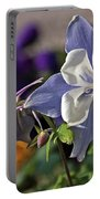 Pastel Spring Flowers Portable Battery Charger