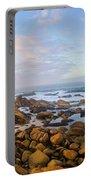 Pastel Tone Seaside Sunrise Portable Battery Charger