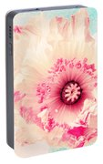 Pastell Poppy Portable Battery Charger