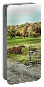 Pastoral Scene Portable Battery Charger