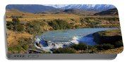 Patagonia Landscape Of Torres Del Paine National Park In Chile Portable Battery Charger