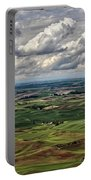 Patchwork Palouse Portable Battery Charger