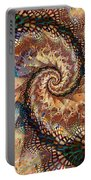 Patchwork Spiral Portable Battery Charger