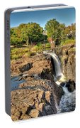 Paterson Water Falls Black And White Portable Battery Charger