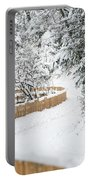 Path In Snow Portable Battery Charger