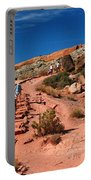 Path To Double O Arch Arches National Park Portable Battery Charger