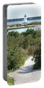 Path To Edgartown Lighthouse Portable Battery Charger