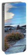 Path To The Beach Preston Beach Marblehead Massachusetts Sunrise Portable Battery Charger