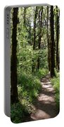 Pathway Through The Woods Portable Battery Charger