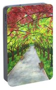 Serenity  Portable Battery Charger by Lisa Bentley