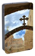 Pathway To The Cross Portable Battery Charger