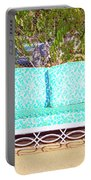 Patio Invitation Palm Springs Portable Battery Charger