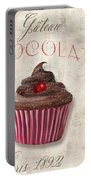 Patisserie Chocolate Cupcake Portable Battery Charger