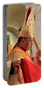 Patriarch Fouad Twal At Christmas Mass Portable Battery Charger
