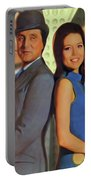 Patrick Macnee And Diana Rigg, The Avengers Portable Battery Charger